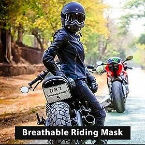 mototrance storm trooper detachable goggles nose face mask