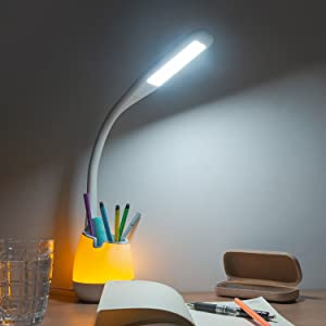 Eg /_ Mini 2 LED USB Nachtlicht Power Bank Wohnheim Lesen Schreibtisch Lampe Nove