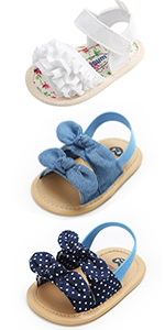 Baby Girls Sandals Elastic Back Strap Flats Slippers Soft Sole Infant Boys Faux Fur Slides Shoes