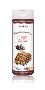 sirope de chocolate, sirope bajo en calorias, topping de chocolate