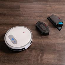LEFANT Robot Aspirador y Fregasuelos, Robot Aspiradora M501-A Succión Fuerte 2000Pa con Sensores Anticaída, Programable App, Autocarga, Aspira, Barre, Friega y Pasa la Mopa, Alexa y Google Home: Amazon.es: Hogar