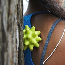 beastie, back, massage, ball, rumbleroller, deep tissue