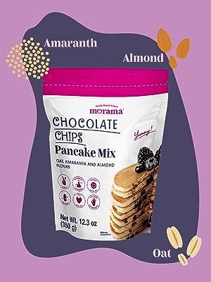 Chocolate Chip Waffle and Pancake Mix vegan dairy gluten free