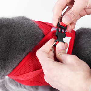 quickly release buckle easy wear cat vest harness