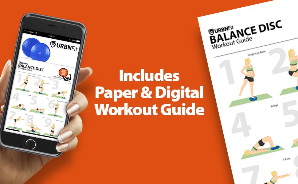 URBNFit Balance Disc Workout Guide