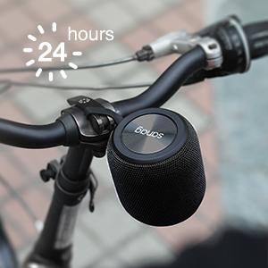Long battery life outdoor portable speaker