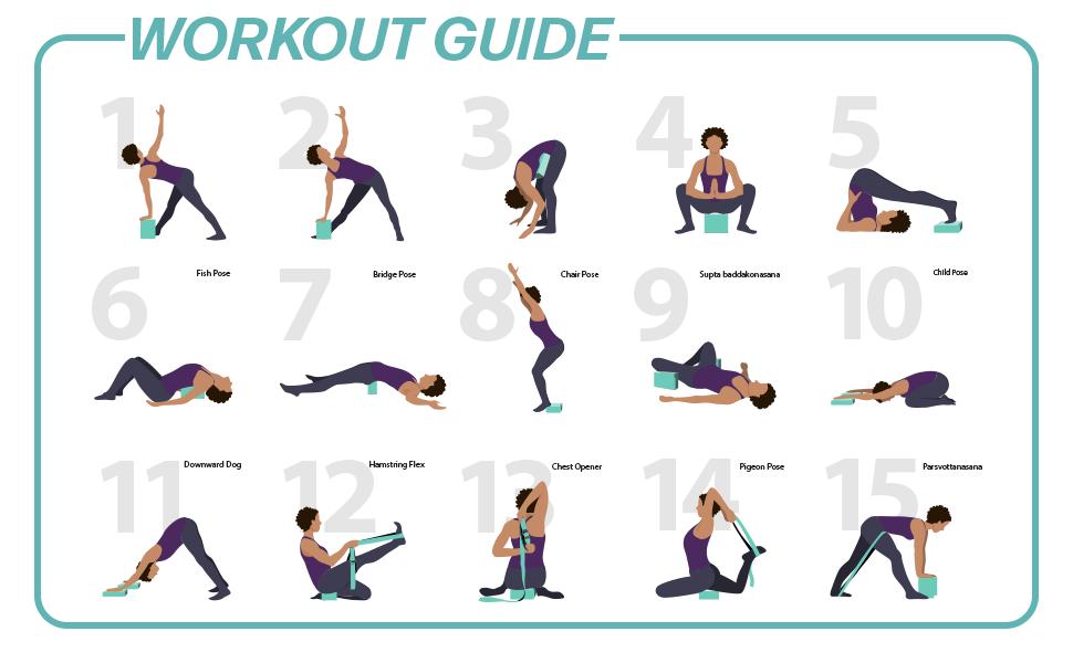 URBNFit Yoga Block Workout Guide