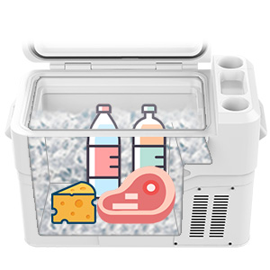 AS A TRADITIONAL COOLER