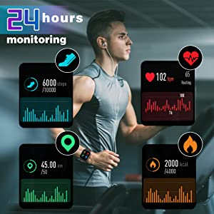 heartrate monitor samrt watches,activity tracker,fitness watch tracker,womens smart watch,fit watch