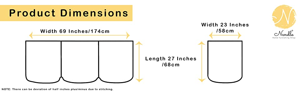 Sofa Cover Dimensions