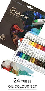 Oil Paint, 24 colors