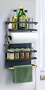 magnetic spice shelf