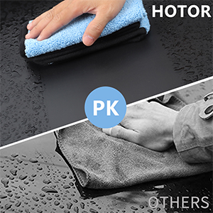 HOTOR MICROFIBER CLEANING CLOTH - A GOOD HELPER FOR CLEANING