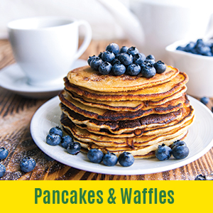 pea protein pancake and wallfes
