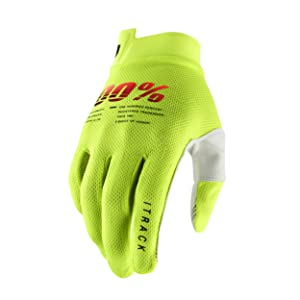 iTrack - Fluo Yellow Gloves