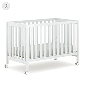 Boori Heron Compact Cot in low position