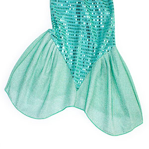 Little Girls Dress Mermaid Outfits Costume Princess Birthday Party Cosplay Clothes Sequins HG023-113