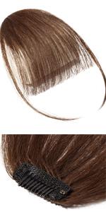 Clip in Hair Bangs
