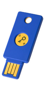 Yubico Security Key Two Factor Authentication Usb Computers Accessories