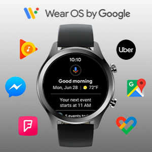 Amazon.com: Ticwatch C2, Wear OS Smartwatch for Men with ...