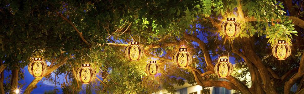 Light Hanging Lanterns