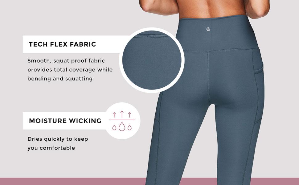Tech Flex Fabric, Moisture Wicking
