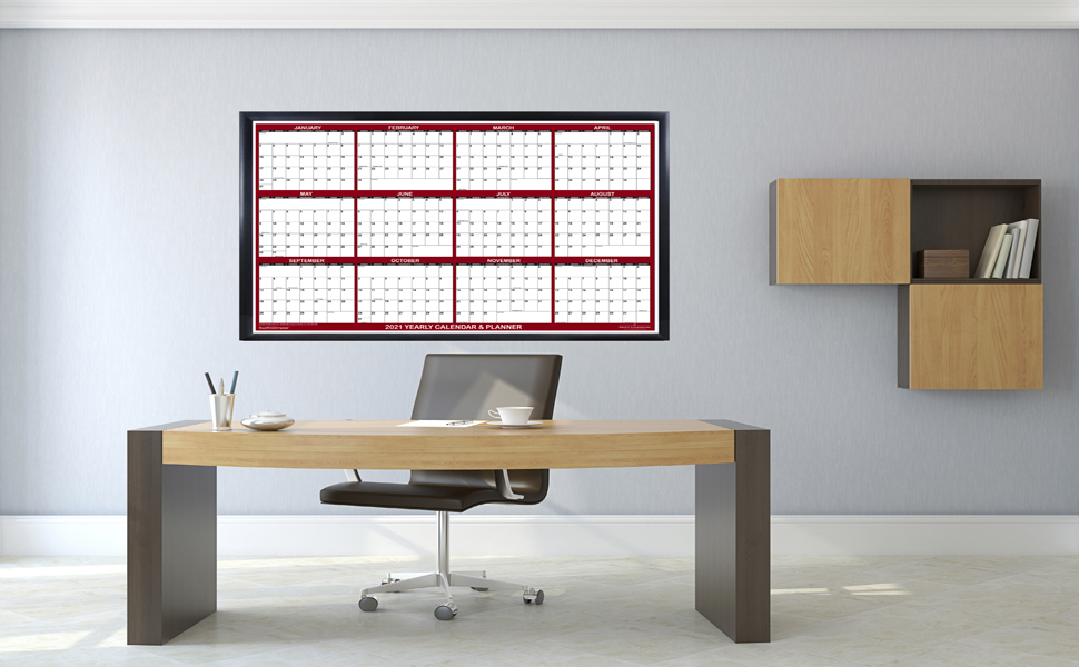 2021 dry erase wall calendar erasable planner swiftglimpse academic office calender