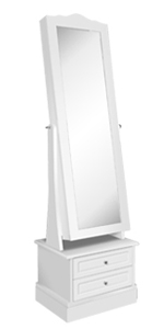rotating jewelry armoire