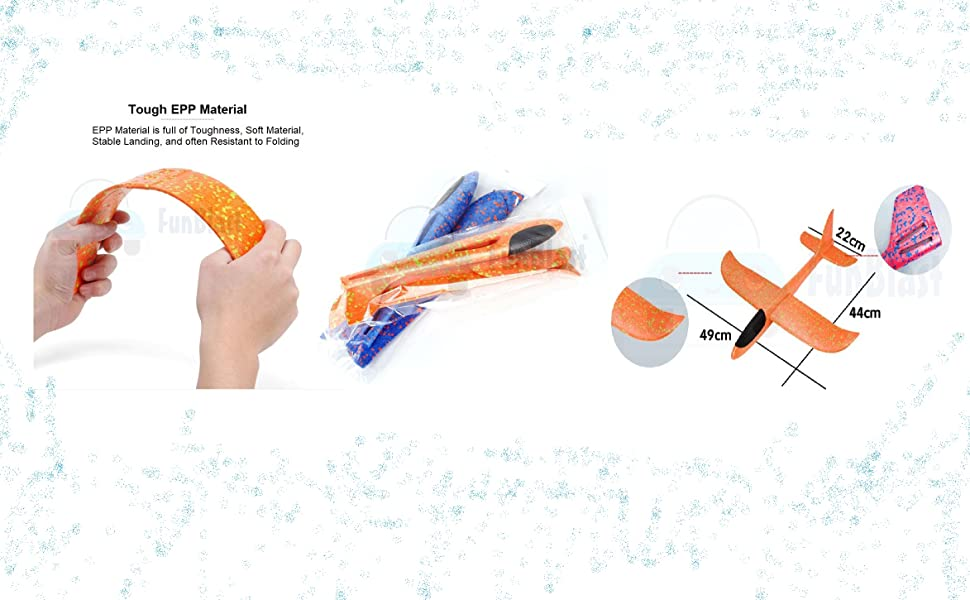 playground flying toys in the summer Lightweight colorfast crash-resistant, easy to fly, fly higher
