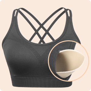 removeable padding bra