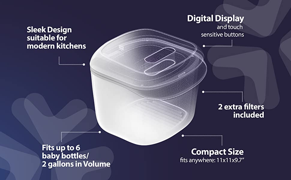 UV Box to sanitize phone, keys, wallet