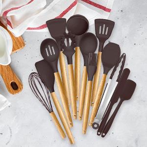 silicone utensil set cooking utensils kitchen utensils utensil set utensils