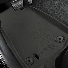 Driver's seat floor mat