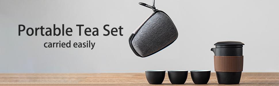 portable tea set