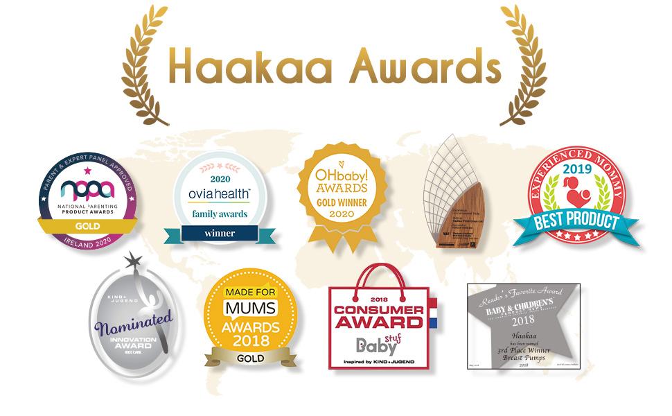 Haakaa Wearable Ladybug Breast Milk Collector Milk Savers for Breastfeeding,1 PC