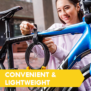 SIGTUNA U-lock I Model Wodan bike locks bicycle freedom convenience ligtweight