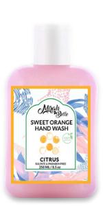 organge hand wash