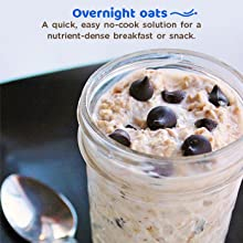 Overnight oats are an amazingly healthy breakfast option