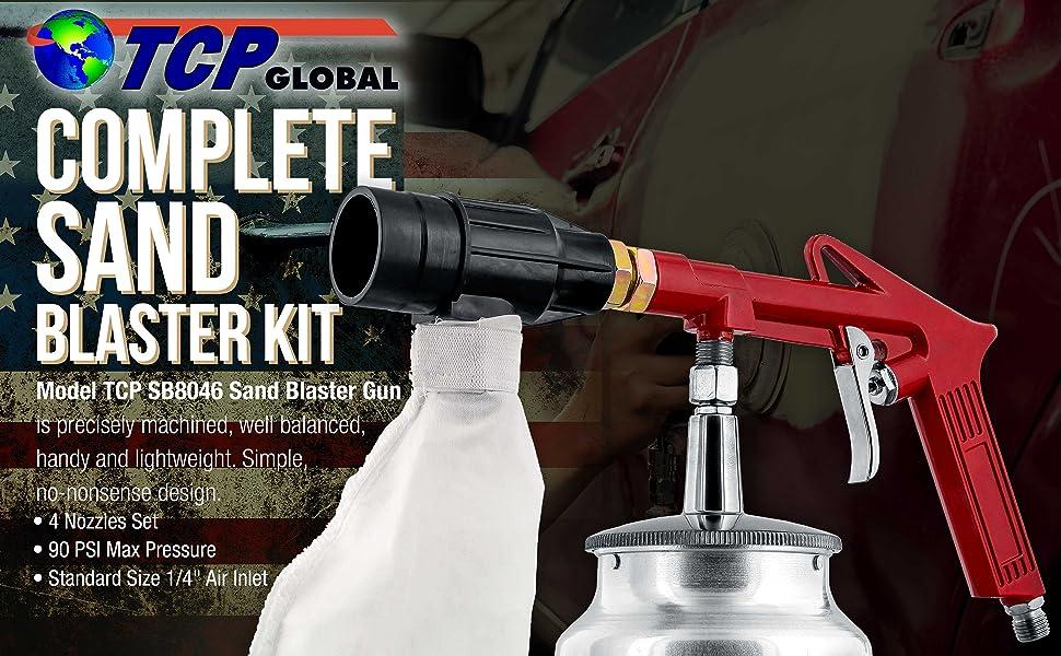 Complete sand blaster kit
