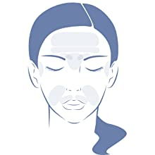 WHERE TO USE SMOOTHIES wrinkle remover strips anti-aging treatment for facial skin face tape