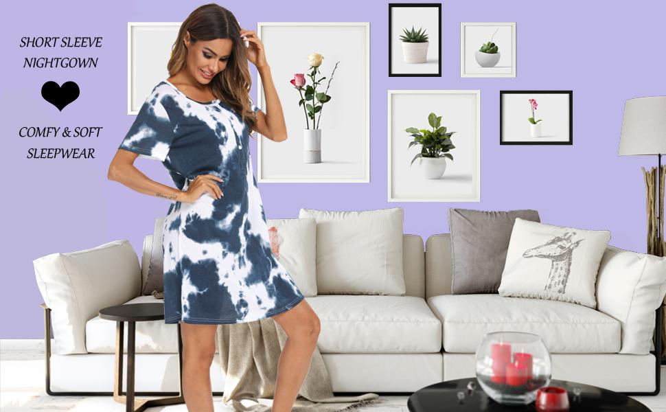 women nightgown cotton