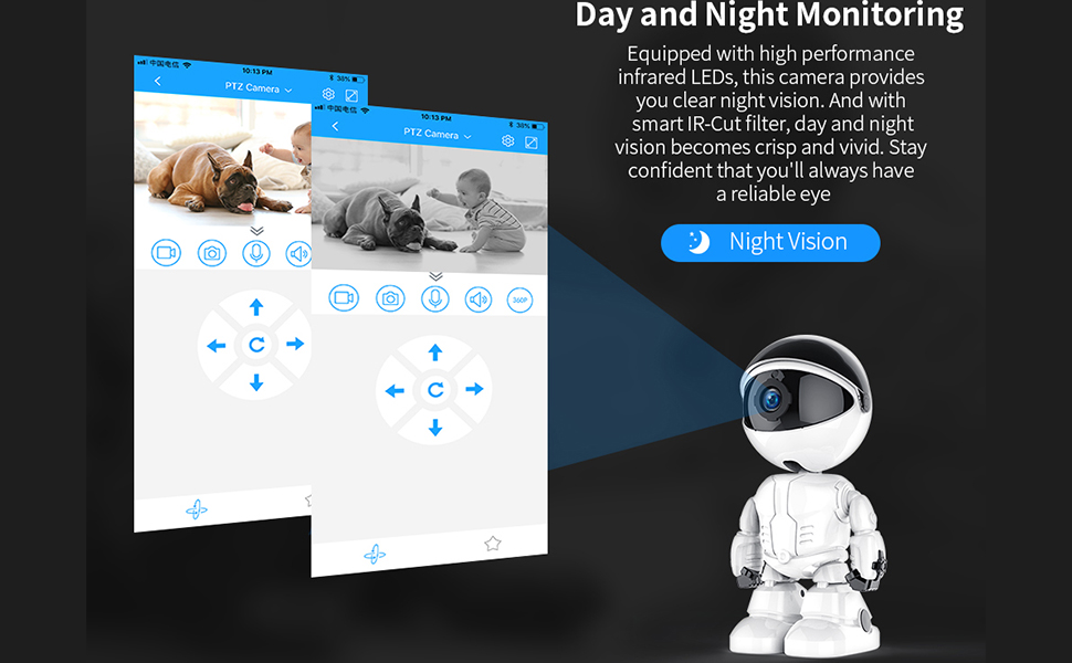 Day and Night Monitoring