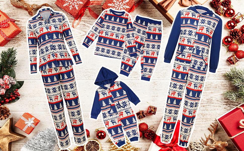 holiday christmas family matching sets