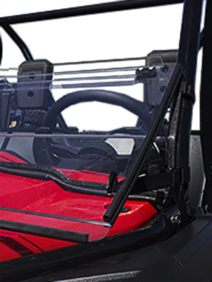 Honda Pioneer 500 Full Folding Windshield