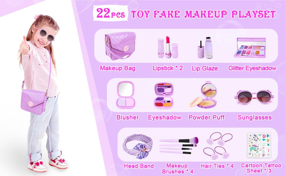 toy fake makeup for toddler girl