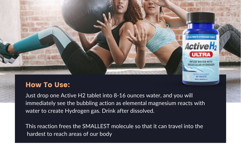 active h2 ultra, hydrogen water