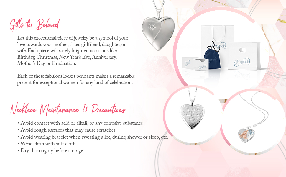 silver butterfly necklace engraved heart necklace sterling silver heart locket silver heart locket