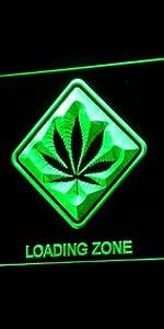 ADVPRO LED Neon sign light-ing color GROW Marijuana CBD Open Hemp Oil High Life Weed Green High