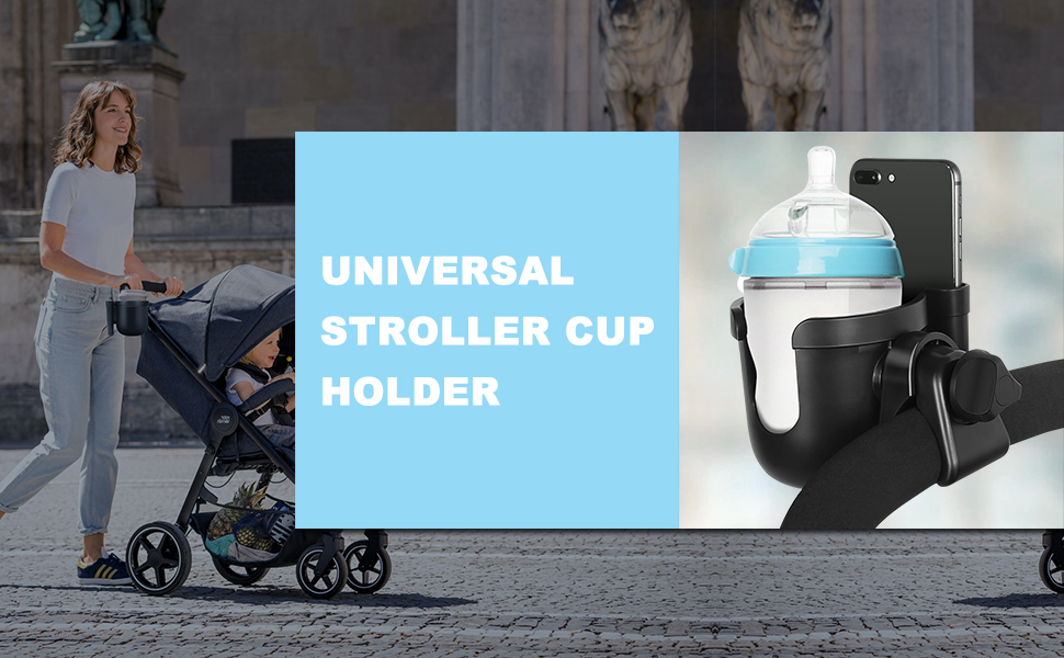Baby Stroller Parent Cup Holders