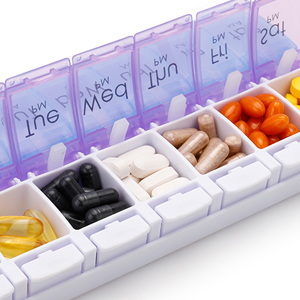 pillbox am pm pill box 2 week am pm pillbox am pm pill organizer am pm pill case 14 day pill box